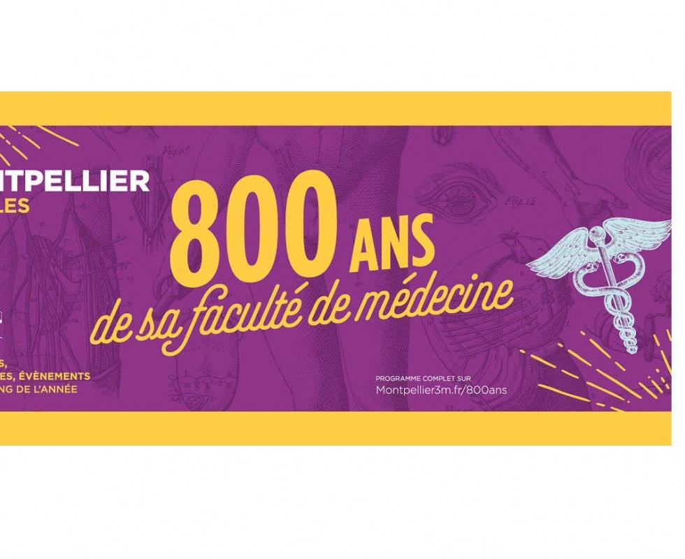 Celebrate University of Montpellier Medical School's 800th anniversary