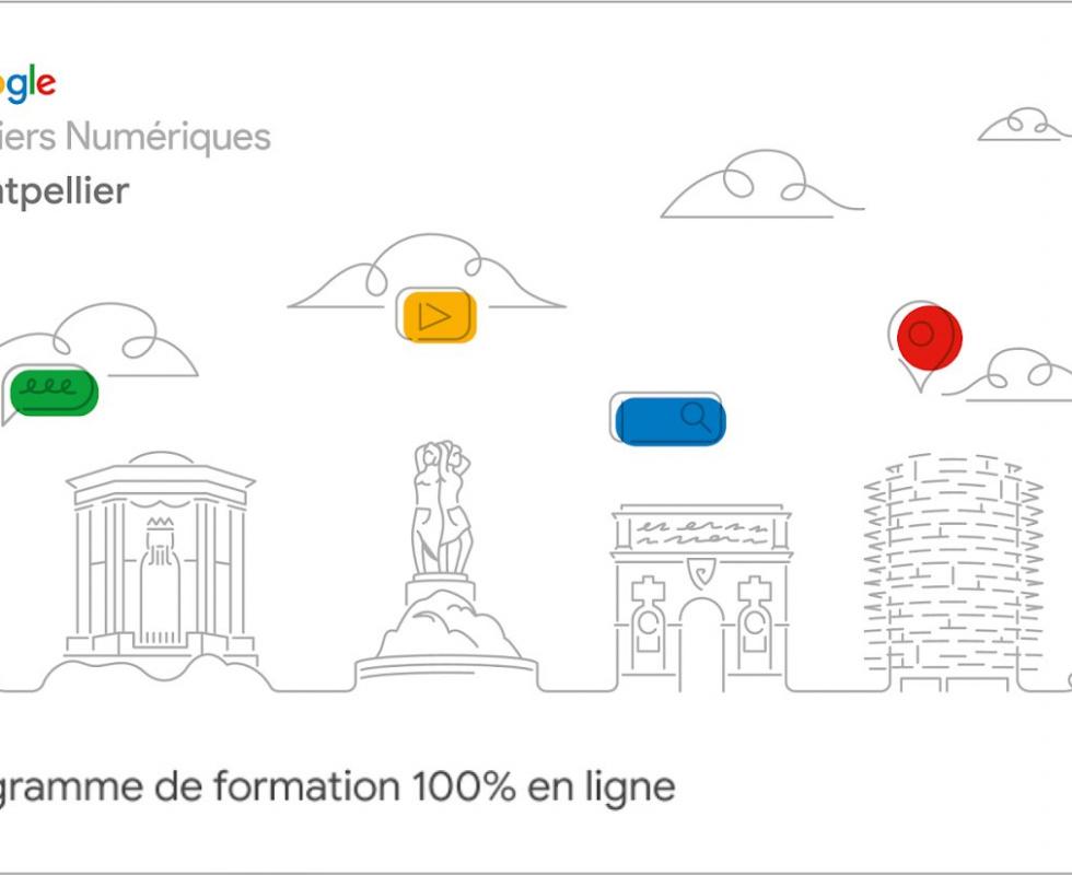Google Atelier Numérique Montpellier