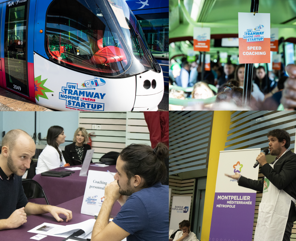 "Company creation: ""A Tramway Named Startup"" filled with projects"
