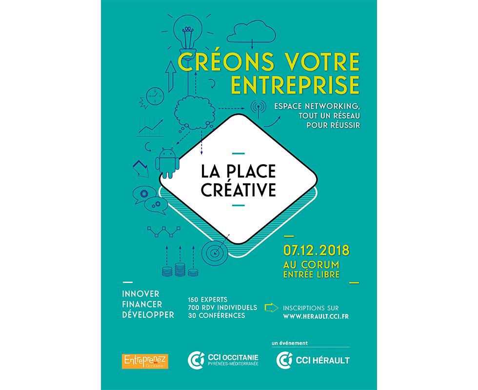 La Place Créative, le RDV des créateurs et dirigeants d'entreprise