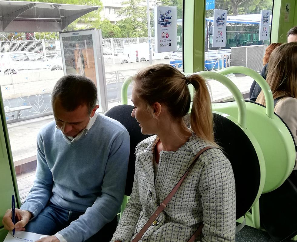 Avec « Un Tramway Nommé Startup », les dirigeants mettent les porteurs de projets sur les bons rails