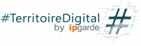 Logo Territoire Digital by Ipgarde