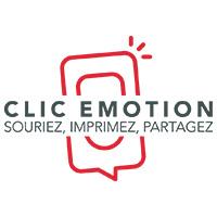 Logo de Clic Emotion, société de vente de bornes selfie