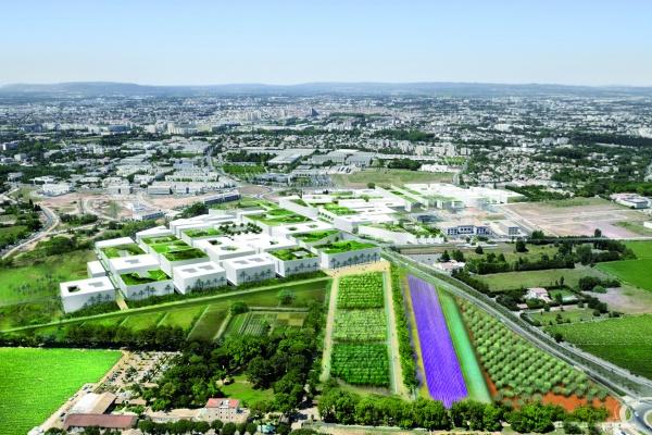 """Le quartier Eurêka dessine une nouvelle cité où le """"bien-vieillir"""" est une réalité @R-Ricciotti"""