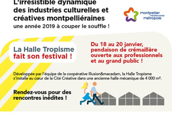 L'irrésistible dynamique des industries culturelles et créatives à Montpellier : une année 2019 à couper le souffle !