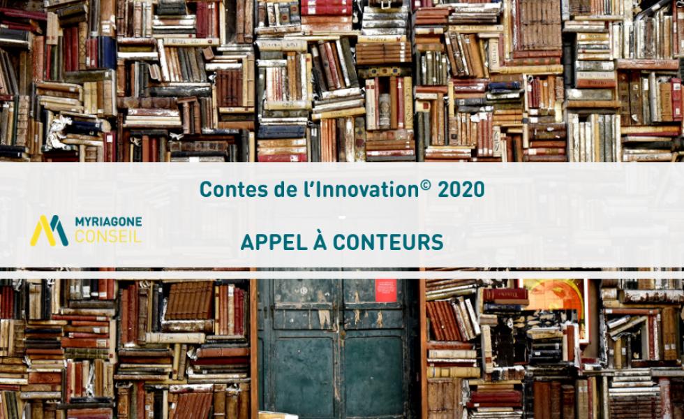 Appel à candidatures : Contes de l'Innovation 2020