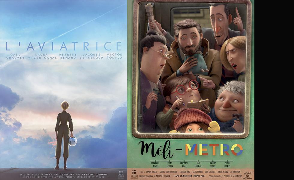 2 films de l'ESMA en lice aux Oscars étudiants à Hollywood !