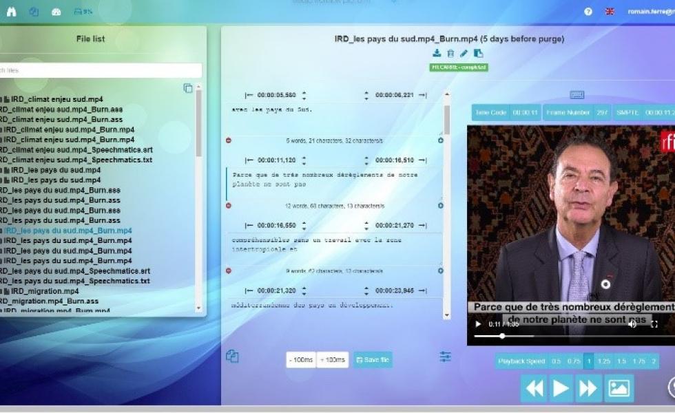 France Médias Monde sélectionne Eolementhe comme solution de sous-titrage web