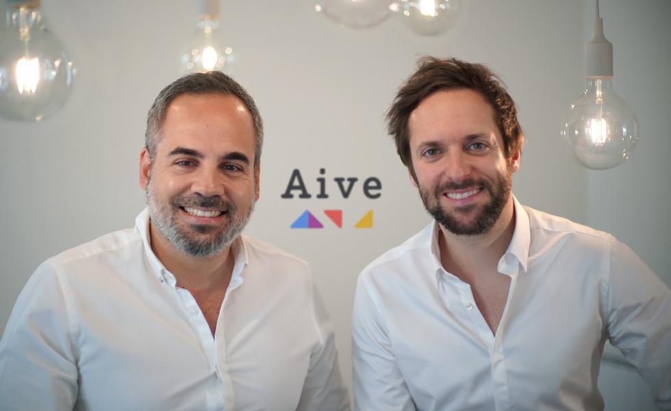 Légende photo : Rudy Lellouche et Olivier Reynaud, fondateurs de la société Aive @dr