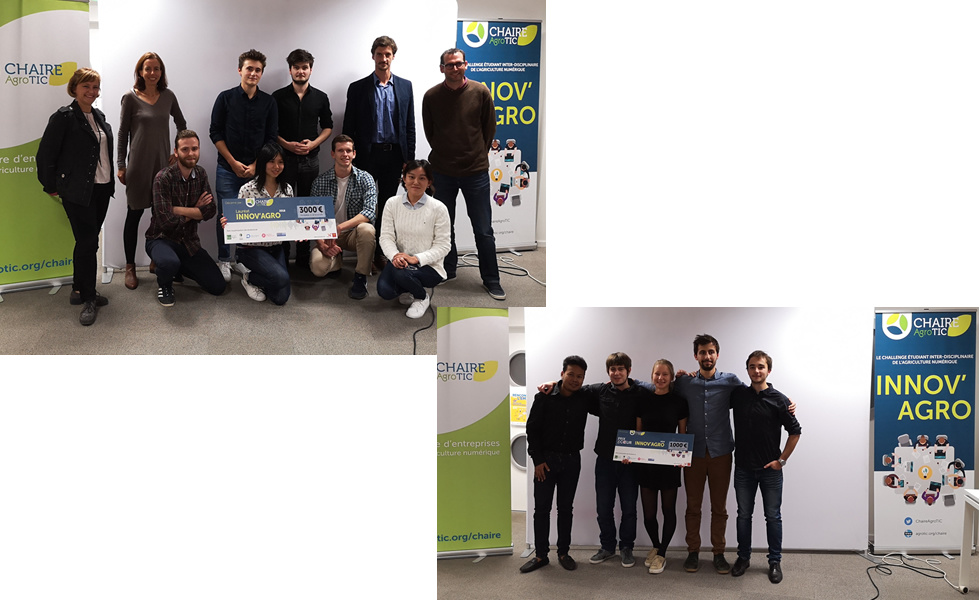 Palmarès 2018 du challenge Innov'Agro
