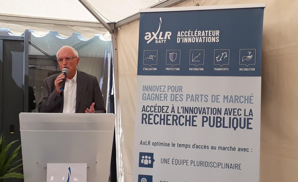 Gérard Lannelongue, conseiller municipal de Montpellier Méditerranée Métropole, délégué à l'Industrie @i prévot