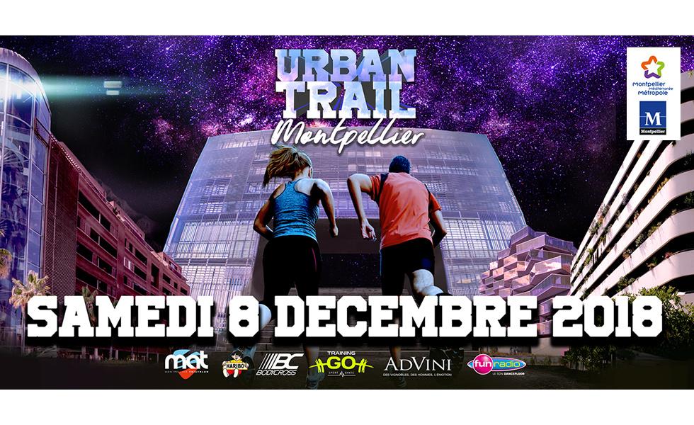 Urban trail nocturne de Montpellier 2018