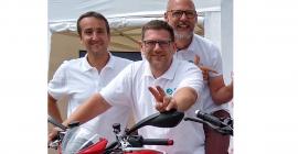 De gauche à droite : Antoine HUBER, Benoit LEFORESTIER, Sébatien MOUREU, les cofondateurs de Sheeld.