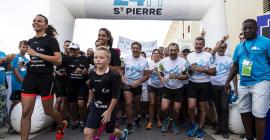 Départ des équipes 24h Saint Pierre 2018