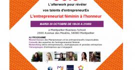 L'Afterwork pour révéler les talents des femmes entrepreneurEs de l'Hérault