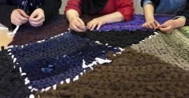 Les prémices d'une filière textile à la Mosson @imeif