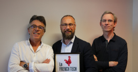 Les cofondateurs de Neurinnov : David Andreu, Serge Renaux, David Guiraud (de gauche à droite). @DR