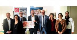 La Caisse d'Epargne de Midi Pyrénées s'engage aux côtés de CREALIA Occitanie, en faveur de la création d'entreprises innovantes régionales