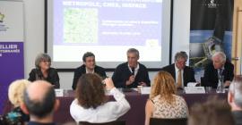 Partenariat entre la Métropole de Montpellier, le CNES et InSpace @Ludovic SEVERAC
